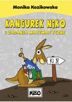 Kangurek NIKO i zadania matematyczne dla klasy 4