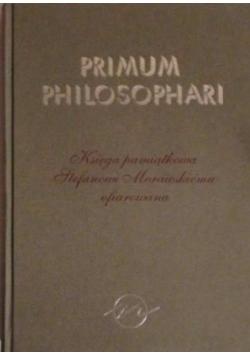 Primum Philosophari