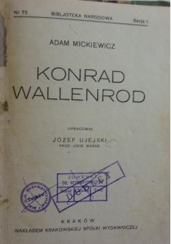 Konrad Wallenrod,1924r.