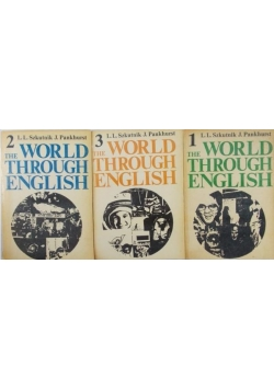 The World Through English, Tom I- III