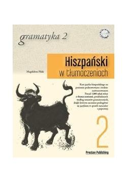 Hiszpański w tłumaczeniach. Gramatyka 2+CD