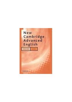 New Cambridge Advenced English - teatchers book