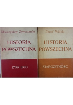 Historia Powszechna starożytność / 1789-1870