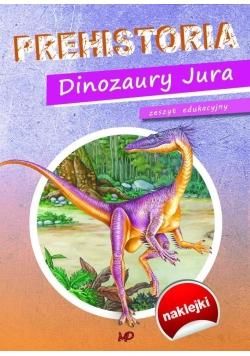 Zeszyt edukacyjny Prehistoria. Dinozaury Jura