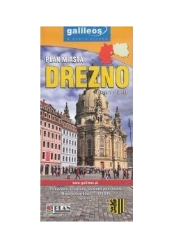 Plan miasta - Drezno 1:12 000