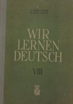 Wir lernen Deutsch, tom VIII
