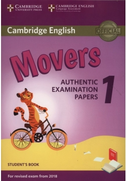 Cambridge English Movers 1 Student's Book Authentic Examination Papers