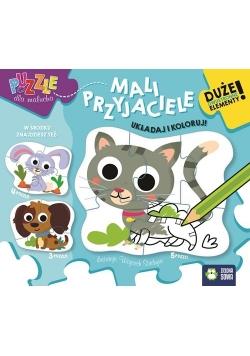 Puzzle dla malucha Mali przyjaciele
