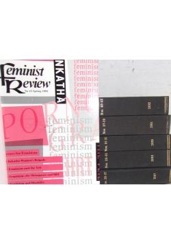 Feminist Review. Number 25- 33 i 37- 45 / 1987 - 1993 r.