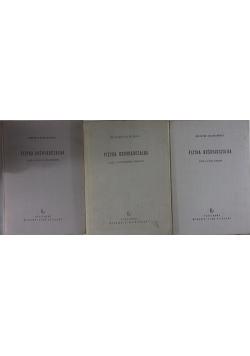 Fizyka doświadczalna, tom 2, 3 i 5