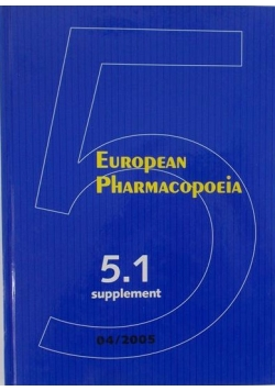 European Pharmacopoeia Supplement 5.1