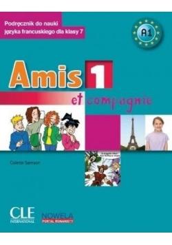 Amis et compagnie 1 podr.+CD+minirepetytorium kl.7