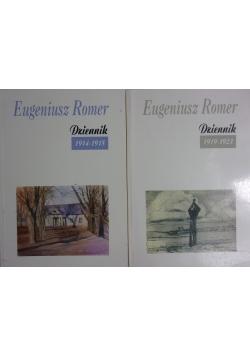 Dziennik, zestaw dwóch książek