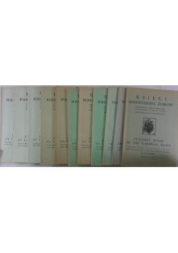 Księgi rodowodowe żubrów, 11 zeszytów