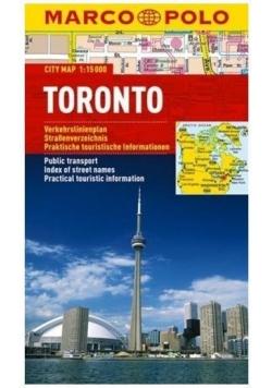 Plan Miasta Marco Polo. Toronto