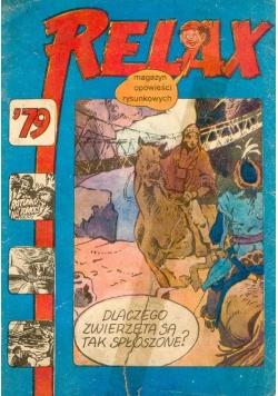 Relax. Magazyn opowieści rysunkowych nr 79