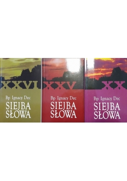 Siejba Słowa - zestaw 3 książek