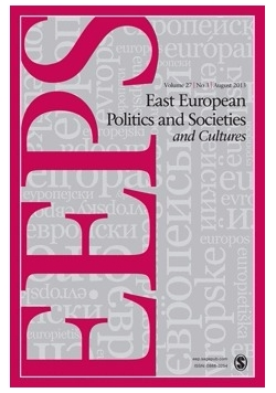 East European Politics and Societes and Cultures 1/2016