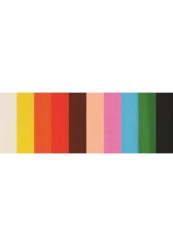 Bibuła krótka zestaw 1 10 kolorów FIORELLO