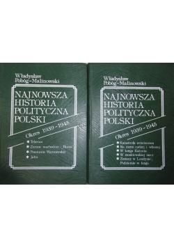 Najnowsza historia polityczna Polski, tom 1 i 2
