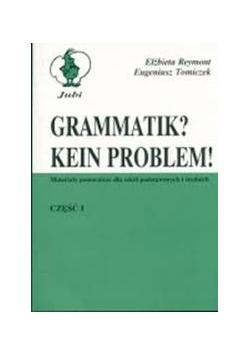 Grammatik Kein Problem, cz. I