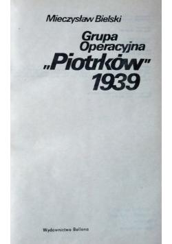 Grupa operacyjna Piotrków 1939