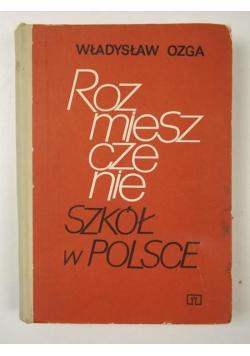 Rozmieszczenie szkół w Polsce