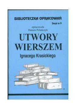Biblioteczka opracowań nr 009 Utwory Wierszem