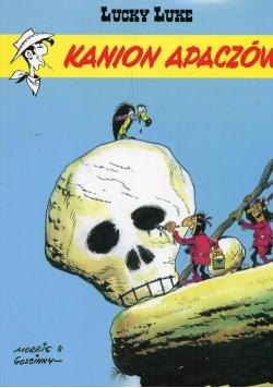 Lucky Luke Kanion Apaczów Tom 37
