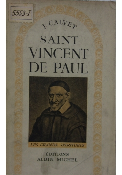 Saint Vincent de Paul, 1948r.