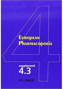 European pharmacopoeia 4.3