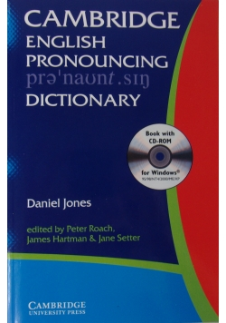 Cambridge English pronouncing