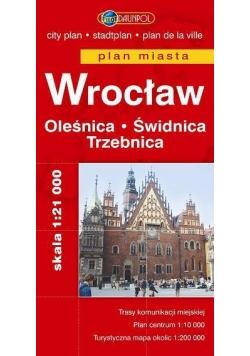 Plan Miasta DAUNPOL. Wrocław br