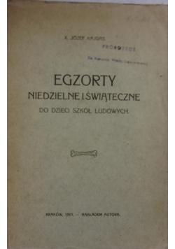 Egzorty Niedzielne i świąteczne dla dzieci szkół ludowych, 1915r.