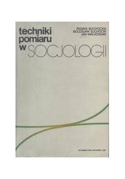 Techniki pomiaru w socjologii