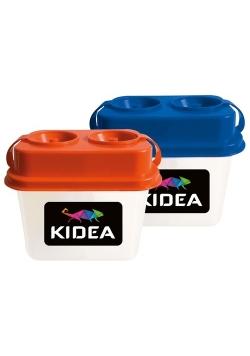 Kubek z blokadą wylania podwójny Kidea 12 sztuk mix