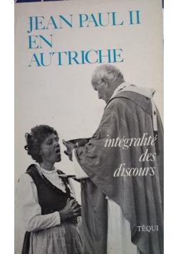 Jean Paul II et autrichie