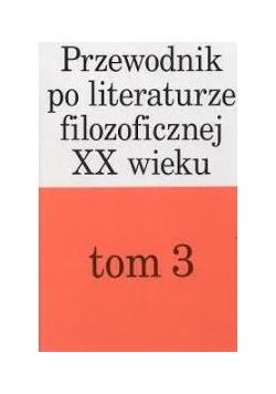 przewodnik po literaturze filozoficznej XX wieku