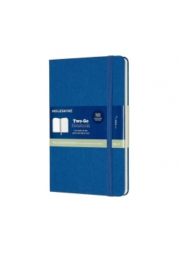 Notes linia tw. TWO-GO, lapis blue MOLESKINE