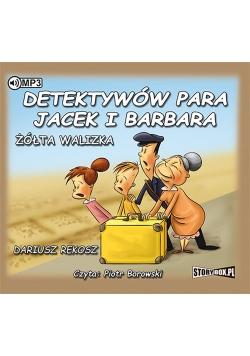 Detektywów para, Jacek i Barbara Żółta walizka