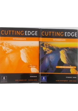 Cutting Edge-intermediate. Workbook and Students Book