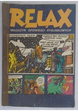 Relax. Magazyn opowieści rysunkowych