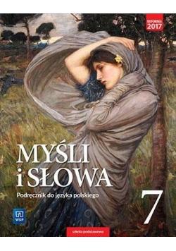 J.Polski SP 7 Myśli i słowa Podr. WSiP