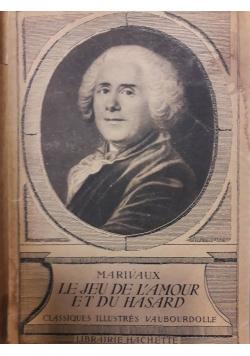 Le jeu de lanour et du hasard , 1935 r.