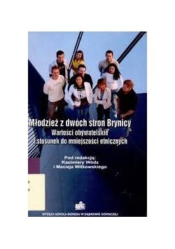 Młodzież z dwóch stron Brynicy