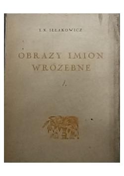 Obrazy imion wróżebne  1926 r.