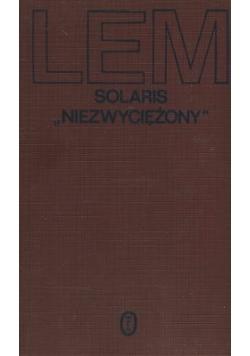 """Solaris """" Niezwyciężony"""""""