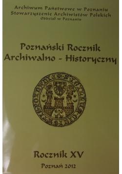 Poznański Rocznik Archiwalno -Historyczny