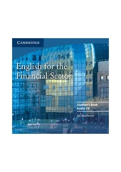 English for the Financial Sector CD, Nowa