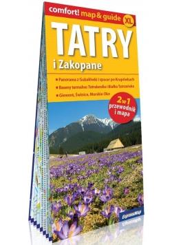 Tatry i Zakopane 2w1 Przewodnik i mapa